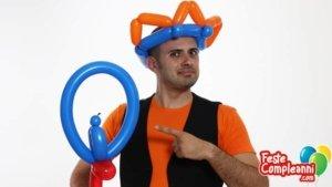 Sculture di palloncini - la Corona de Re