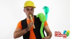 Palloncino Serpente - Crea il Cobra Reale