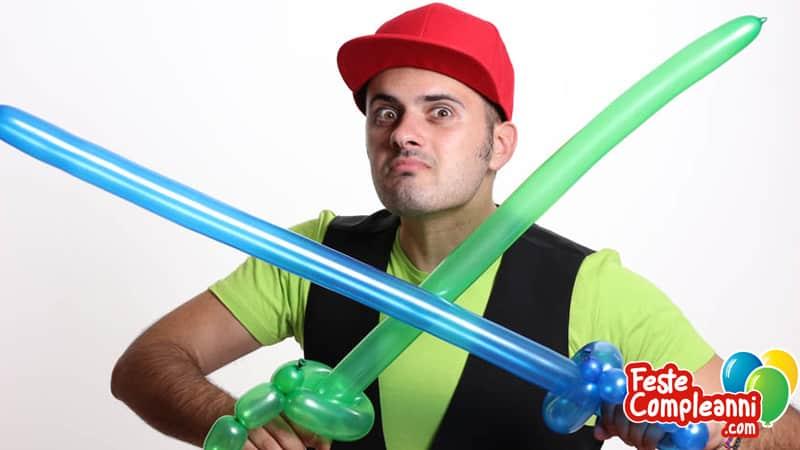 Sculture con palloncini: La Spada Pirata