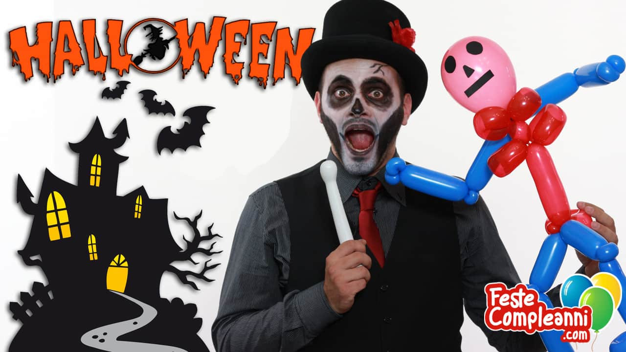 Balloon Art Halloween - Lo scheletro