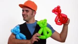 teddy bear - l'orsetto con i palloncini