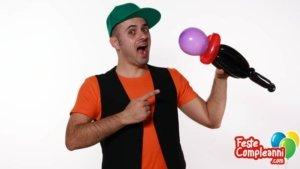 Forme con Palloncini - Il Microfono