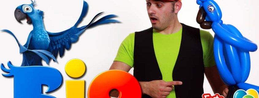 Film Rio - Il Pappagallo Blu con i Palloncini