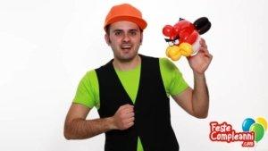 Angry Birds con i Palloncini