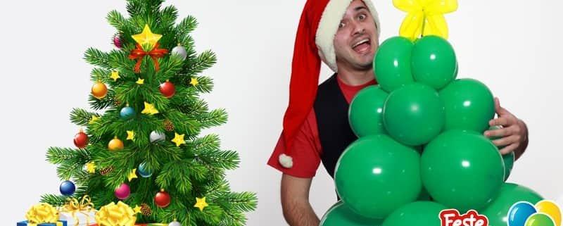 Albero di Natale fai da te - Scultura con Palloncini