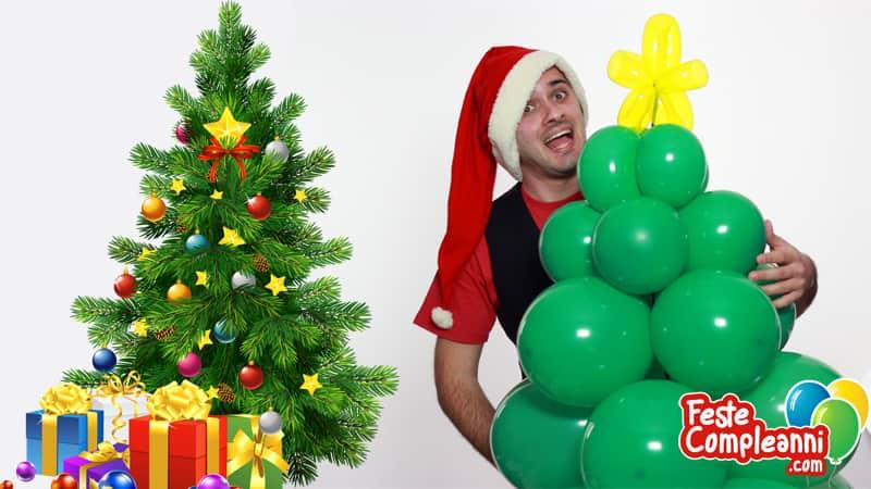 Come fare un albero di natale con palloncini