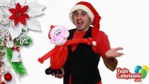 Palloncino Babbo Natale - Palloncini Modellabili