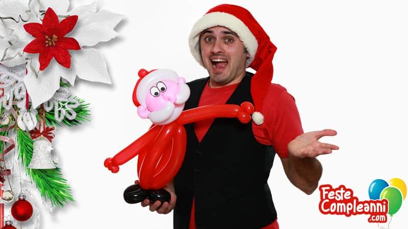 Babbo Natale - Sculture di Palloncini