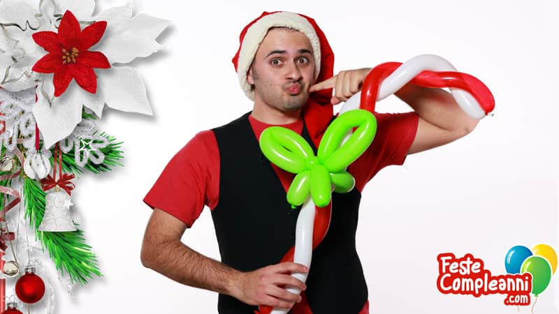 Candy Cane - Dolci di Natale con i Palloncini