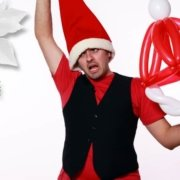 Cappello di Babbo Natale - Sculture con Palloncini