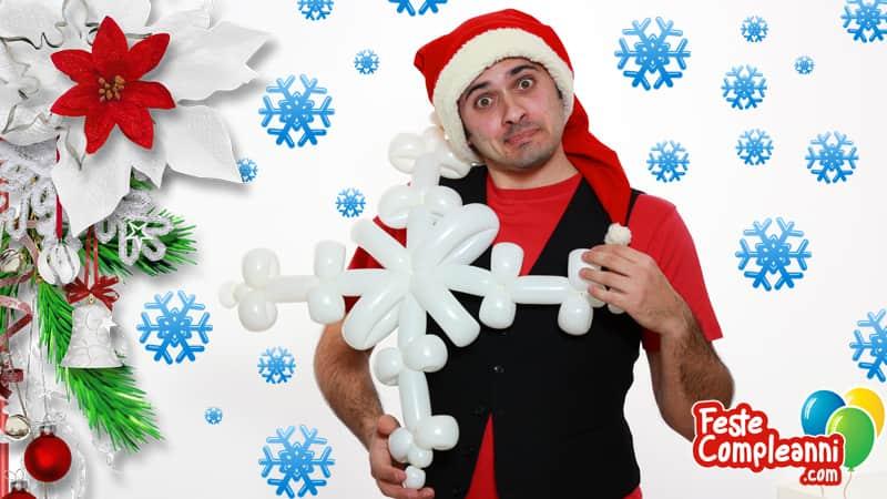 Istruzioni Palloncini Modellabili - Il Fiocco di Neve