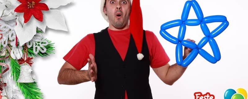 Stella di Natale - Palloncini Natalizi