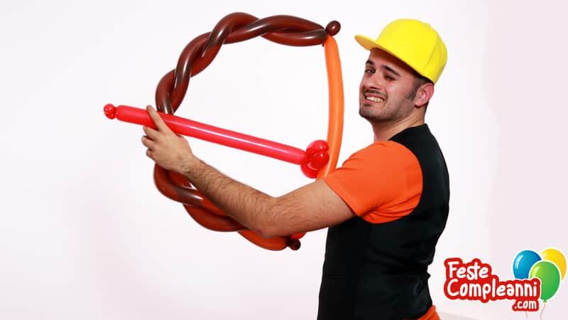 Giochi con Palloncini - Arco con Freccia