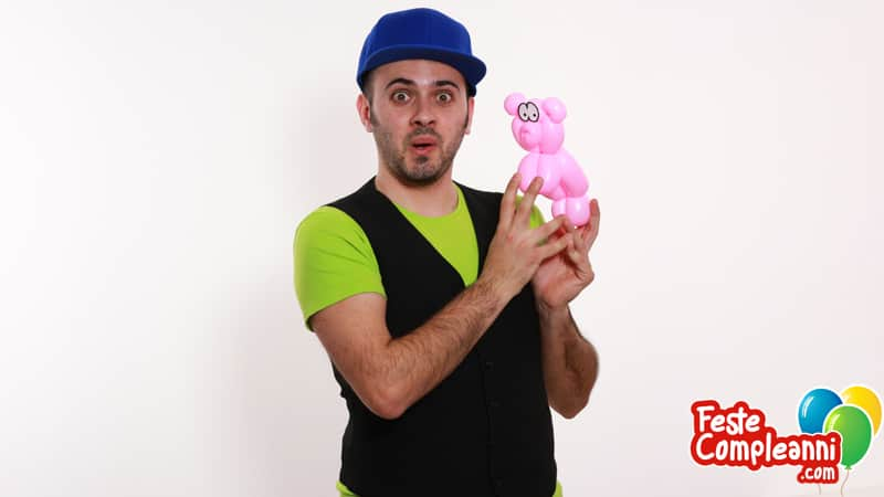 Maialino con Palloncini - Balloon Animal