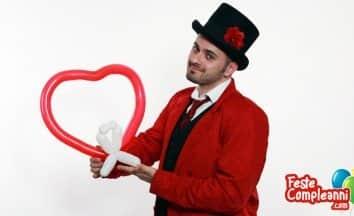 Palloncino Cuore - Regalo San Valentino
