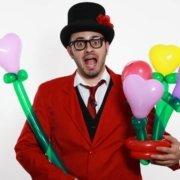San Valentino Idee Regalo - Mazzo di Cuori con Palloncini