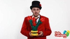 Regalo San Valentino - Mazzo di Rose con Palloncini