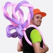 Costume Ali Farfalla - Palloncini Modellabili