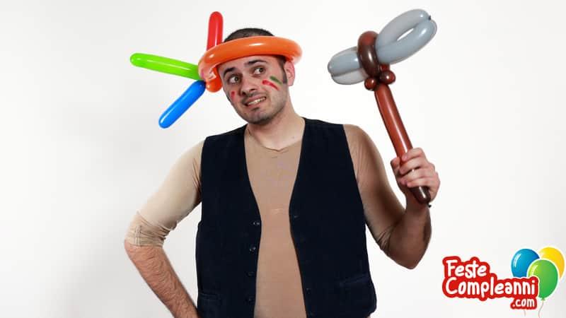 Costume fai da te con Palloncini - L'Indiano