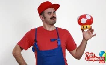Fungo Super Mario - Scultura con Palloncini