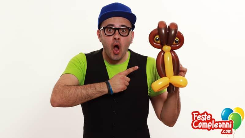 Gufo con Palloncini - Balloon Animal