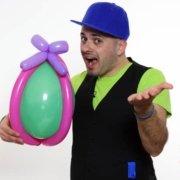 Uovo di Pasqua - Scultura con Palloncini