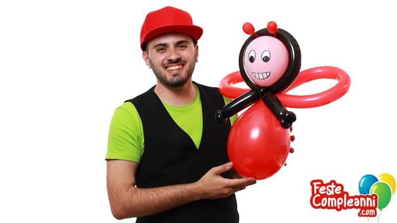 Palloncino Coccinella - Balloon Ladybug