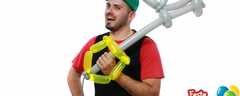 Cosplay Balloon - Keyblade con Palloncini