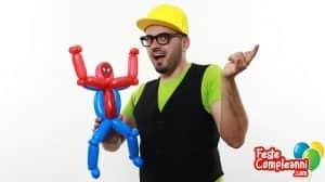 Spider Man Balloon - Sculture di Palloncini