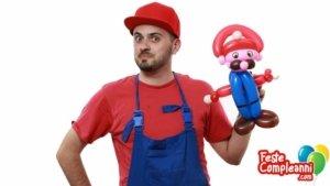 Super Mario Balloon - Sculture con Palloncini