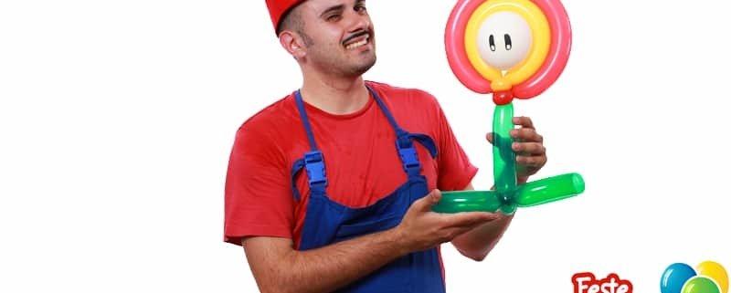 Balloon Super Mario - Fiore di Fuoco