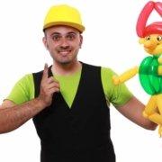 Animazione per Compleanni - Palloncino Pinocchio