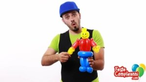 Animatore per bambini - Lego Man Balloon