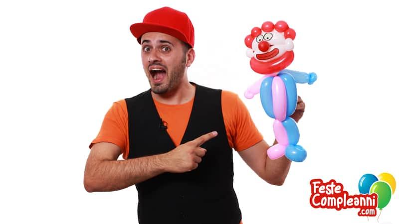 Animatore per Compleanno - Il Pagliaccio