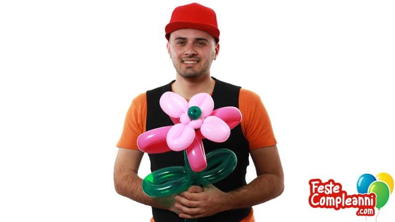 Come realizzare un Fiore con i Palloncini - Video Tutorial