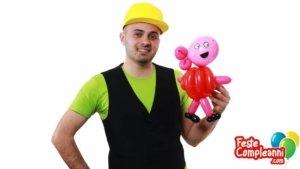 Peppa Pig Istruzioni - Scultura Palloncini