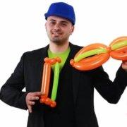 Violino con Palloncini - Feste Compleanni