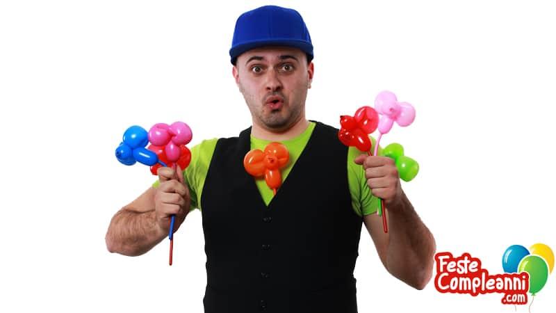 Giocare con i palloncini - Topolino Salterino