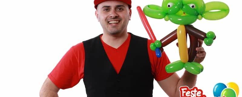 Yoda - Scultura con palloncini