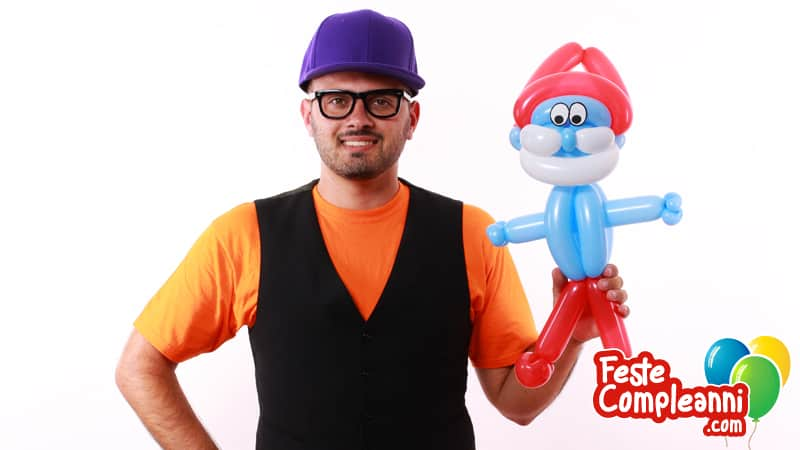 Grande Puffo - Balloon Art