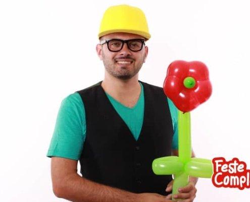 Palloncino a forma di Fiore - Balloon Art