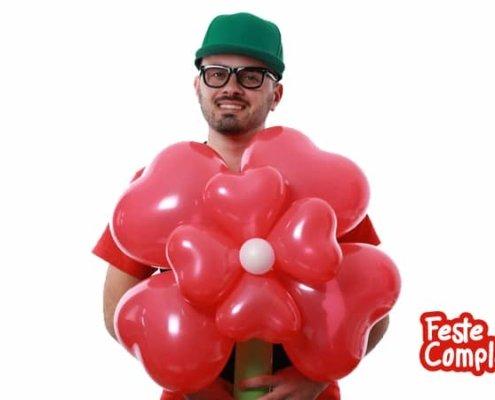 Fiore per San Valentino - Balloon Art