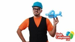 Squalo con Palloncini - Balloon Art