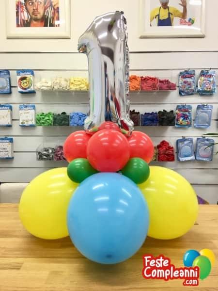Composizione-palloncino-primo-compleanno