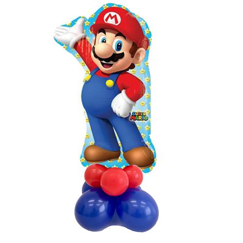Super-Mario-colonna palloncini