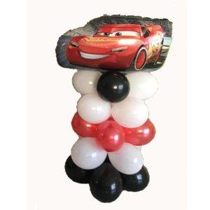 cars colonna palloncini