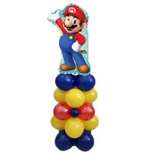 colonna palloncini supermario padova