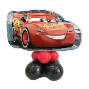 composizione palloncini cars