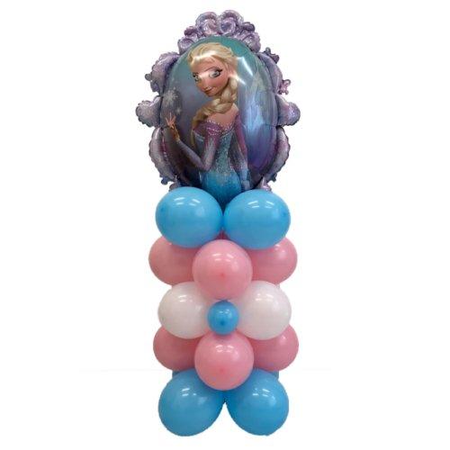 composizione palloncini frozen