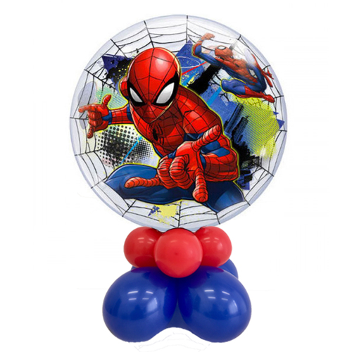 palloncino spiderman bubble